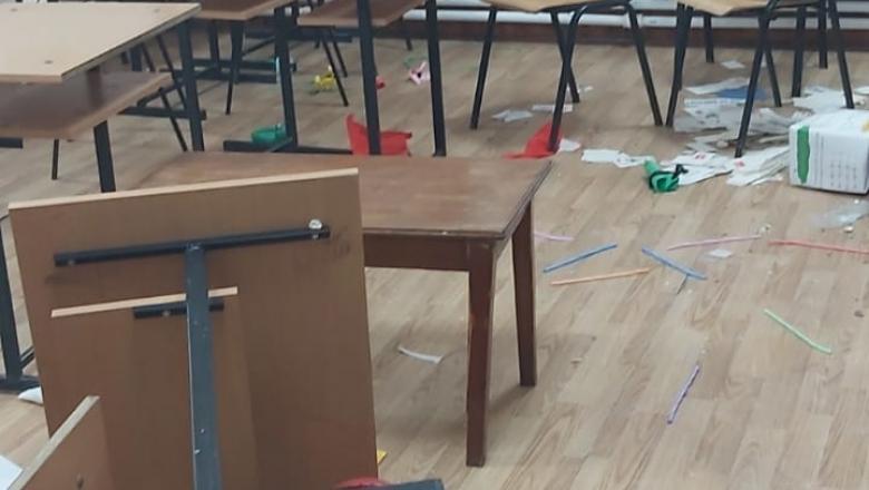 Trei copii din Clejani au devastat o școală! Școala