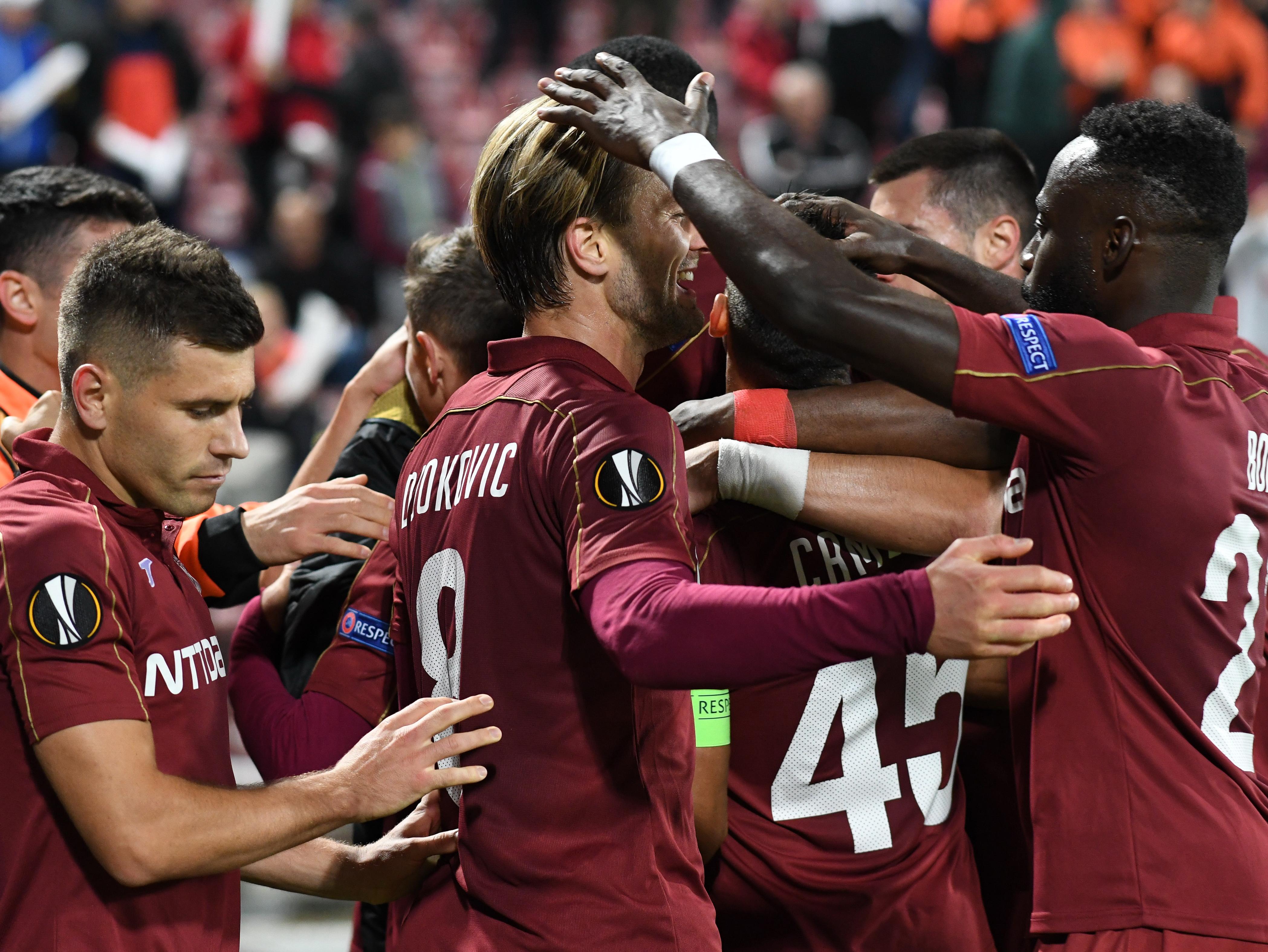 CFR Cluj a învins Lazio în Europa League. Sursă Foto: Sportpictures