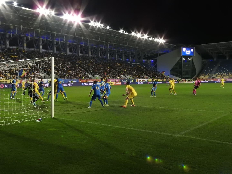 Peste 5.000 de suporteri au fost în tribune la România U21 - Ucraina U21