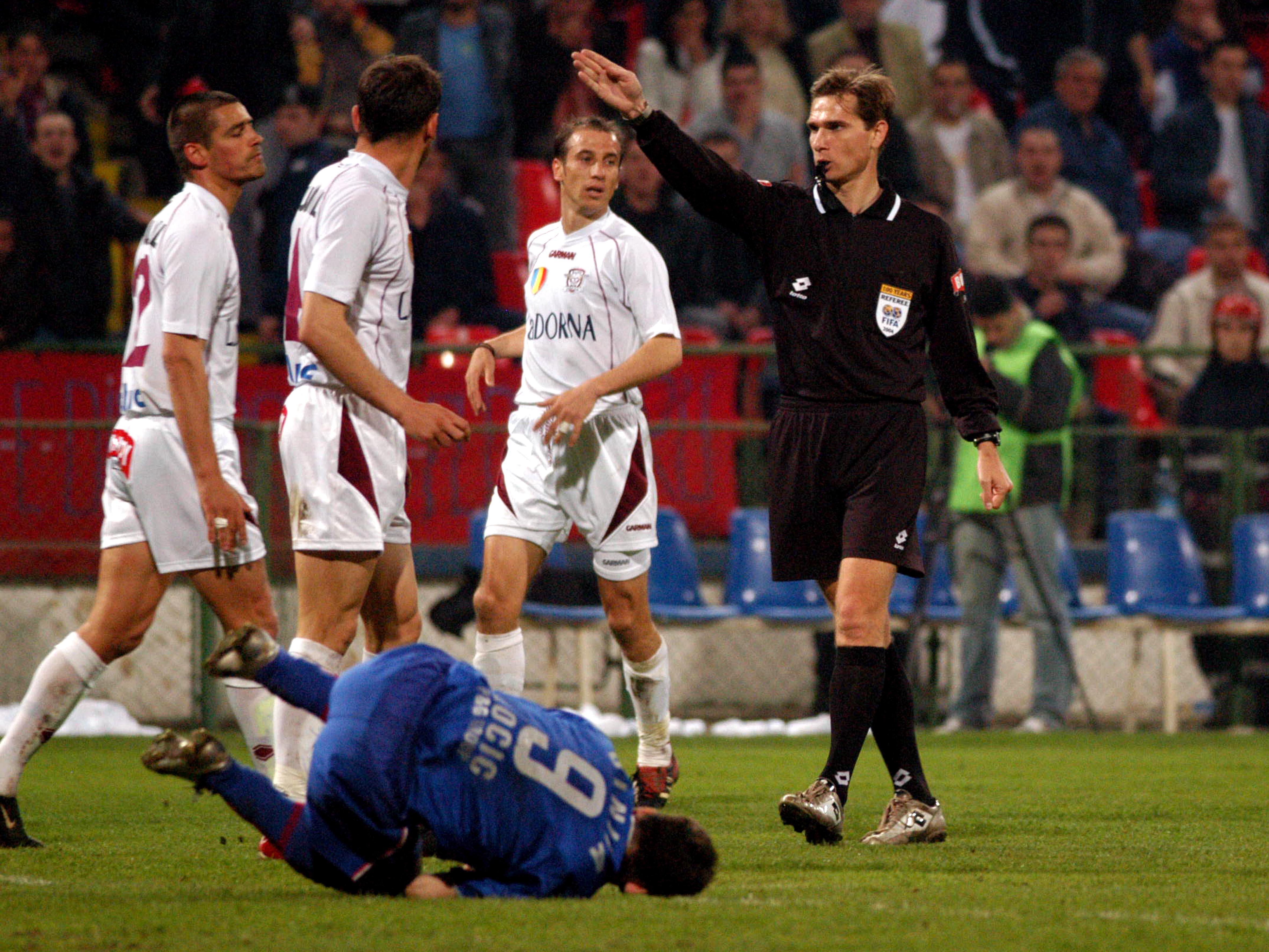 Alexandru Tudor în FCSB - Rapid 3-3. Sursă Foto: Sportpictures
