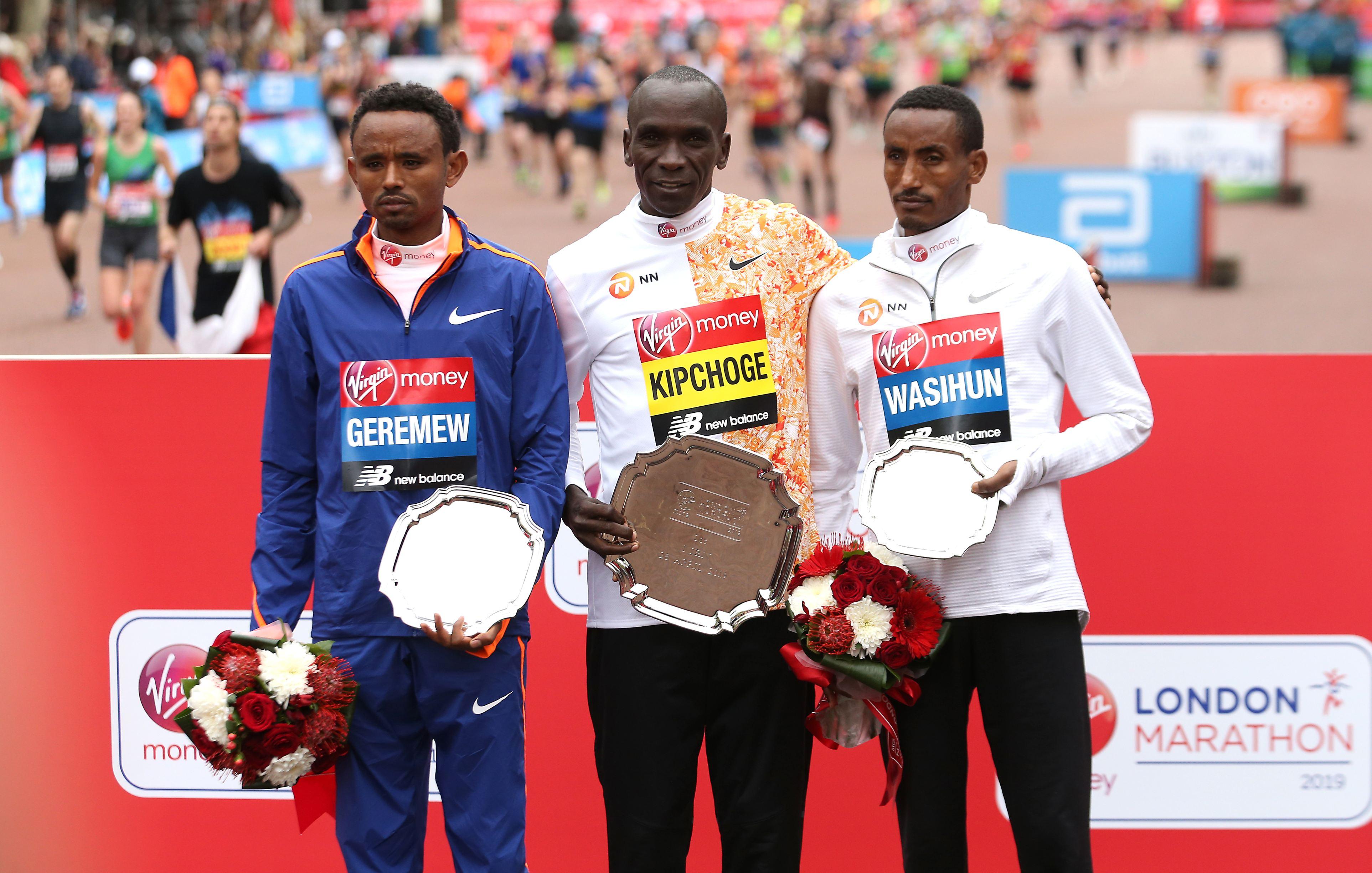 Eliud Kipchoge are medalia de aur la Jocurile Olimpice de la Rio. Sursă foto: hepta.ro