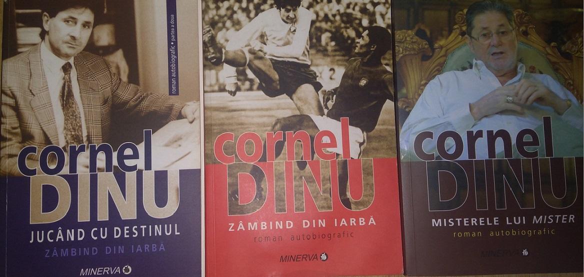 """Romanele autobiografice scrise de Cornel Dinu. În ultimul, """"Misterele lui Mister"""", se găsește amintirea acelui meci cu Bulgaria lui Hristo Stoicikov care a stârnit mânia lui Giovani Becali, care l-a înjurat și l-a amenințat cu judecata pe """"Mister"""""""