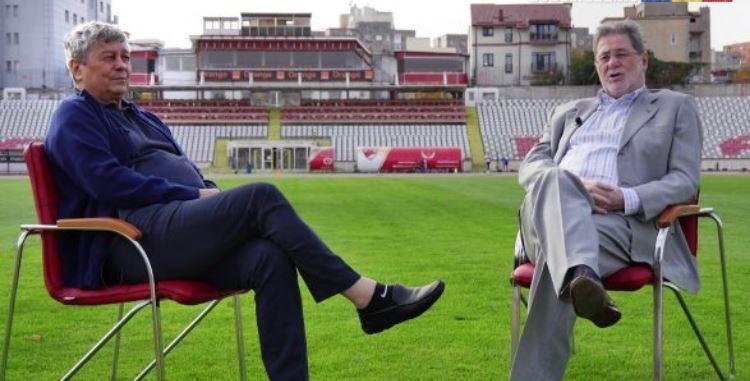 """Mircea Lucescu și Cornel Dinu, două """"săbii"""" care trebuie să încapă în aceeași """"teacă"""" pentru viitorul lui Dinamo. legendele de care are nevoie """"haita"""" din """"Ștefan cel Mare"""" Sursa foto: eusunt12.ro"""