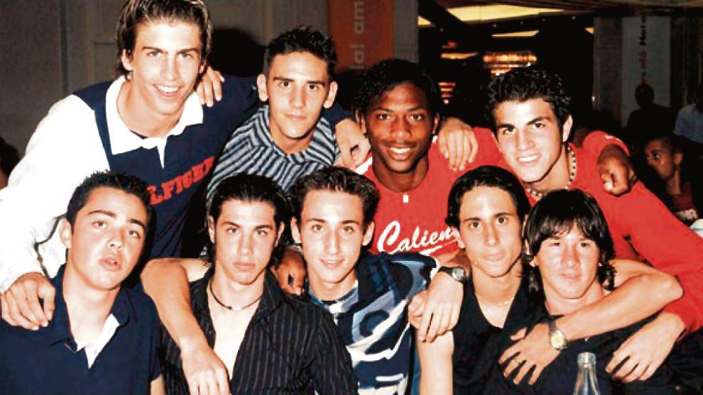 Lionel Messi în tinerețe