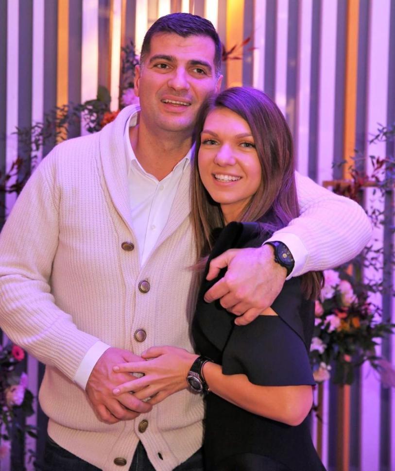 Toni Iuruc şi Simona Halep