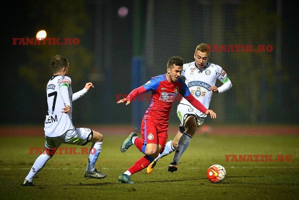 La Steaua, Seboastian Chitoșcă a jucat numai în meciuri de pregătire și într-un meci din Cupa României, cu toate că s-a integrat bine în schemele antrenorului Laurențiu Reghecampf