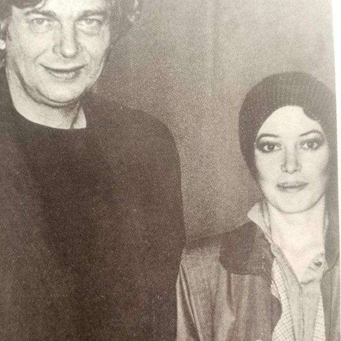 Nichita Stănescu, alături de ultima sa soție, Dora Stănescu(sursa www.facebook.com)