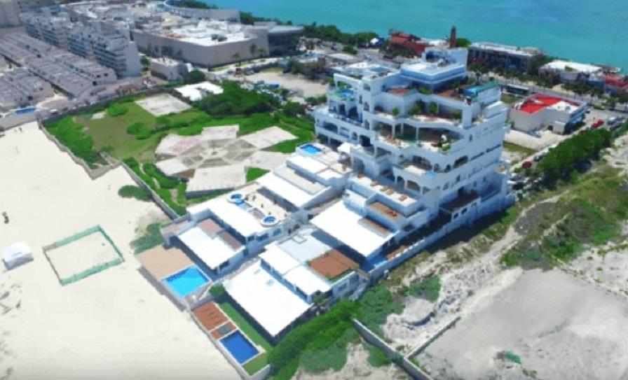 Hugo Sanchez a transformat un hotel într-o reședință de vis pe malul Golfului Mexic, în stațiunea Cancun. Sursa foto: icasas.mx