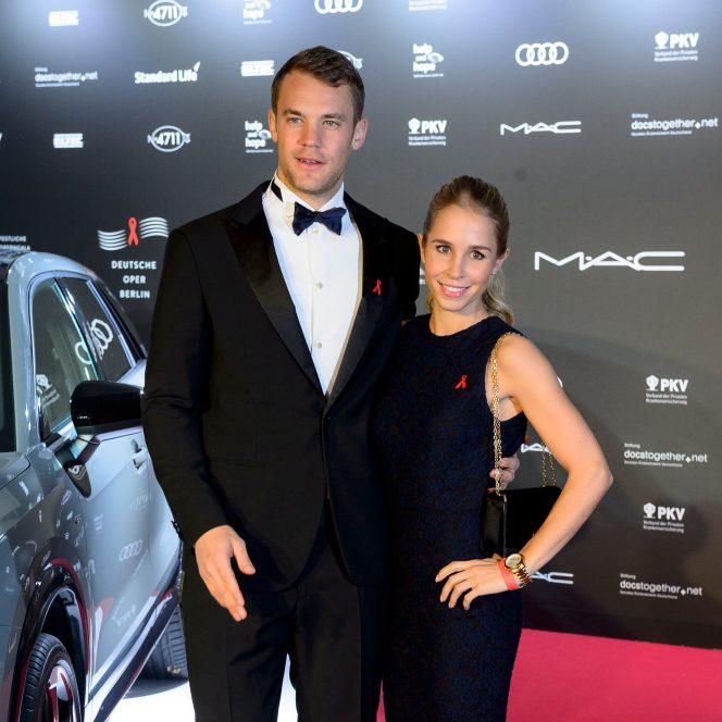 Manuel Neuer şi Nina Weiss. FOTO: hepta.ro