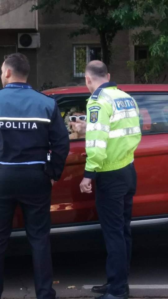 Margherita de la Clejani, prinsă drogată la volan. Sursa foto: cancan.ro