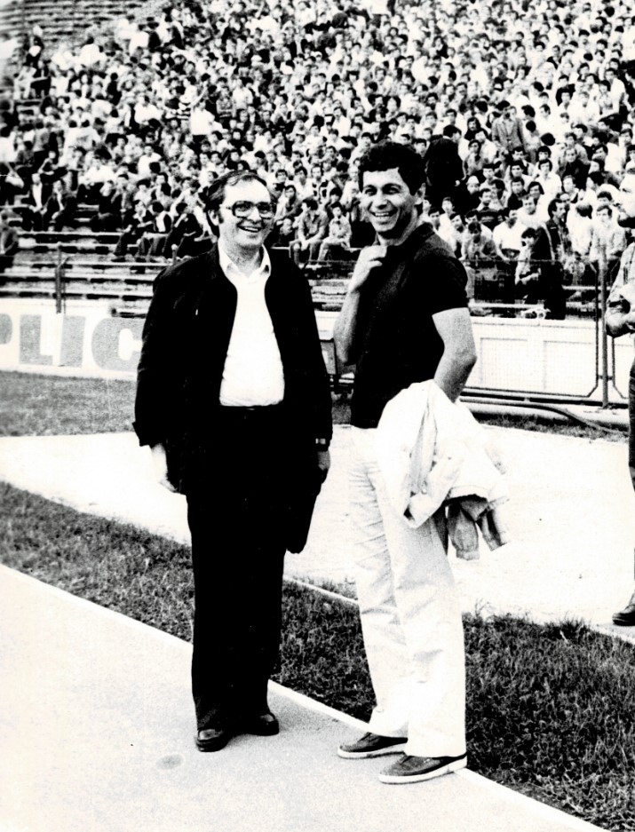 Ion Ghitulescu si Mircea Lucescu