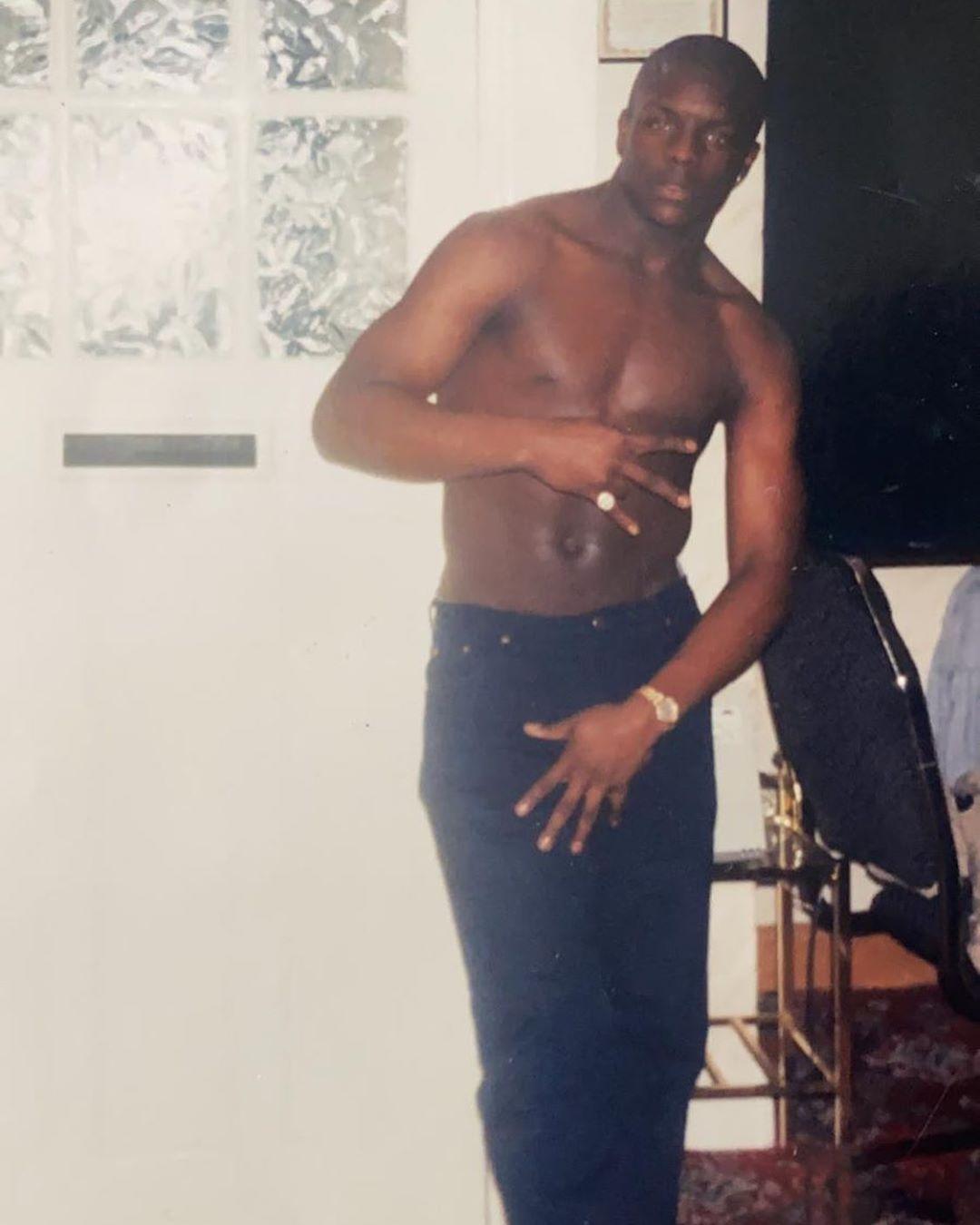 Adebayo Akinfenwa, la 17 ani. FOTO: instagram