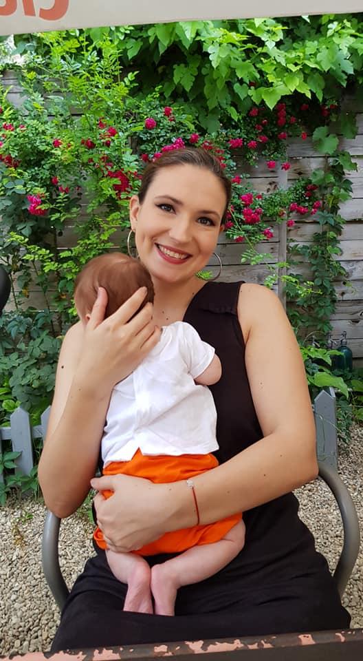 Prezentatoarea Dana Istrate a devenit mămică