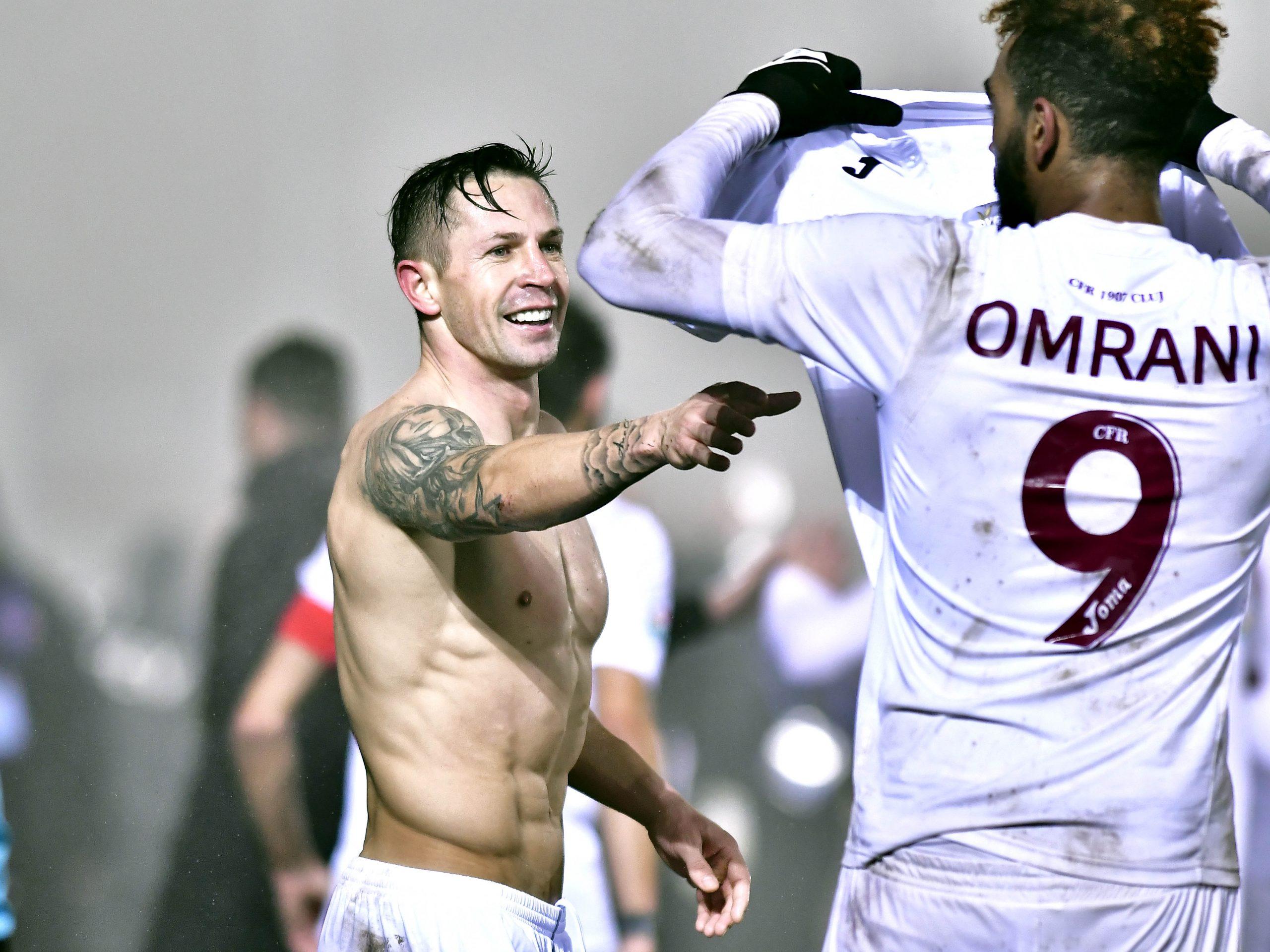 Ciprian Deac are un abdomen de invidiat. FOTO: sportpictures.eu