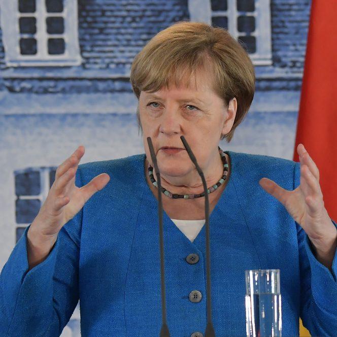 Cancelarul german Angela Merkel (sura hepta.ro)