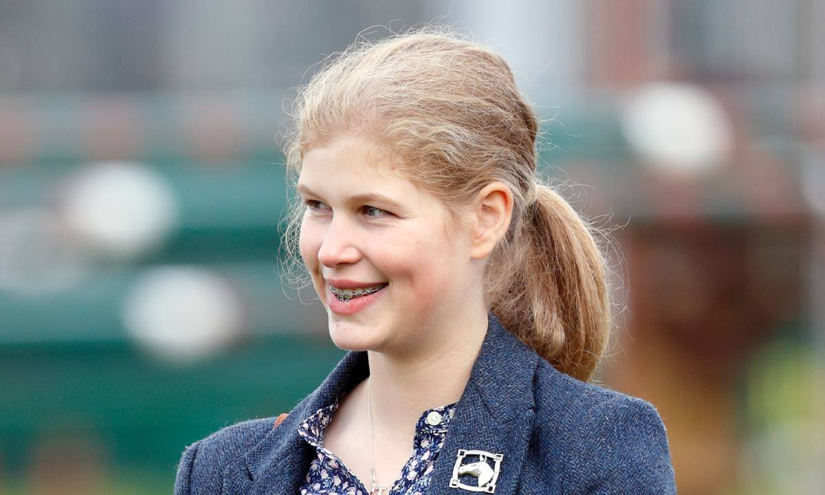 Prințesa Louise, fiica Prințesei Sophie Wessex