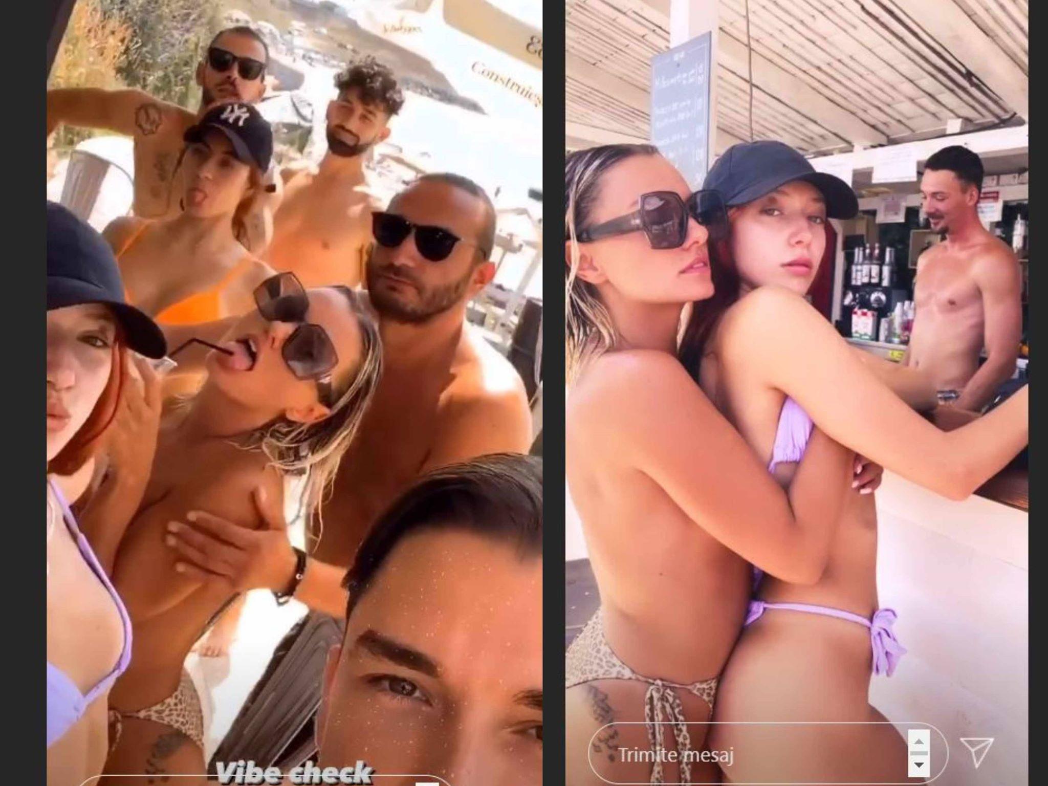 Alexandra Stan, Emil Rengle, topless