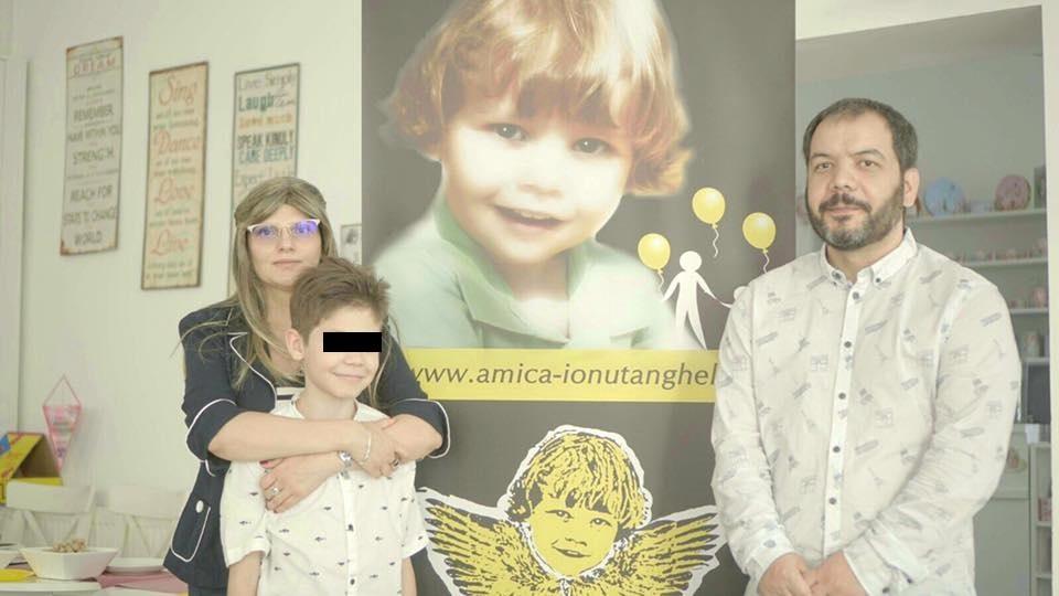 Familia Anghel. Sursa foto: stirilekanald.ro