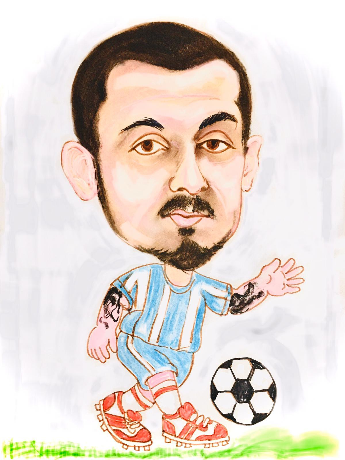 Mitriță caricatură