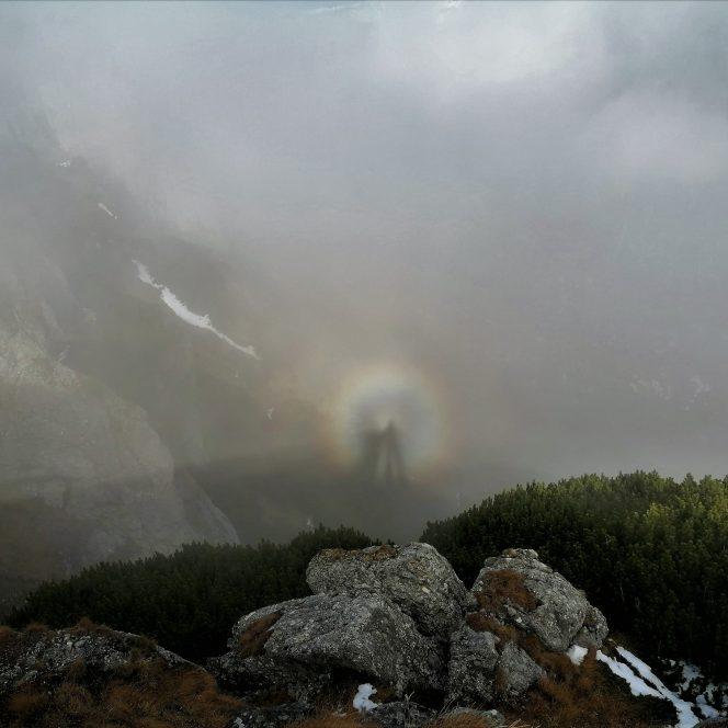 Efectul Gloria în Munții Bucegi