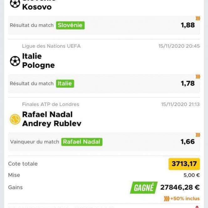 Biletul anului la pariuri! Cine e romanul care a castigat aproape 28.000 euro cu doar 5 euro jucati