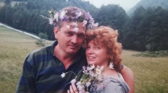 Cezara Dafinescu și fostul soț, Gelu Fronea