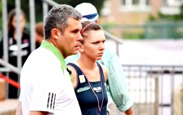 Simona Halep și Firicel Tomai, fostul său antrenor