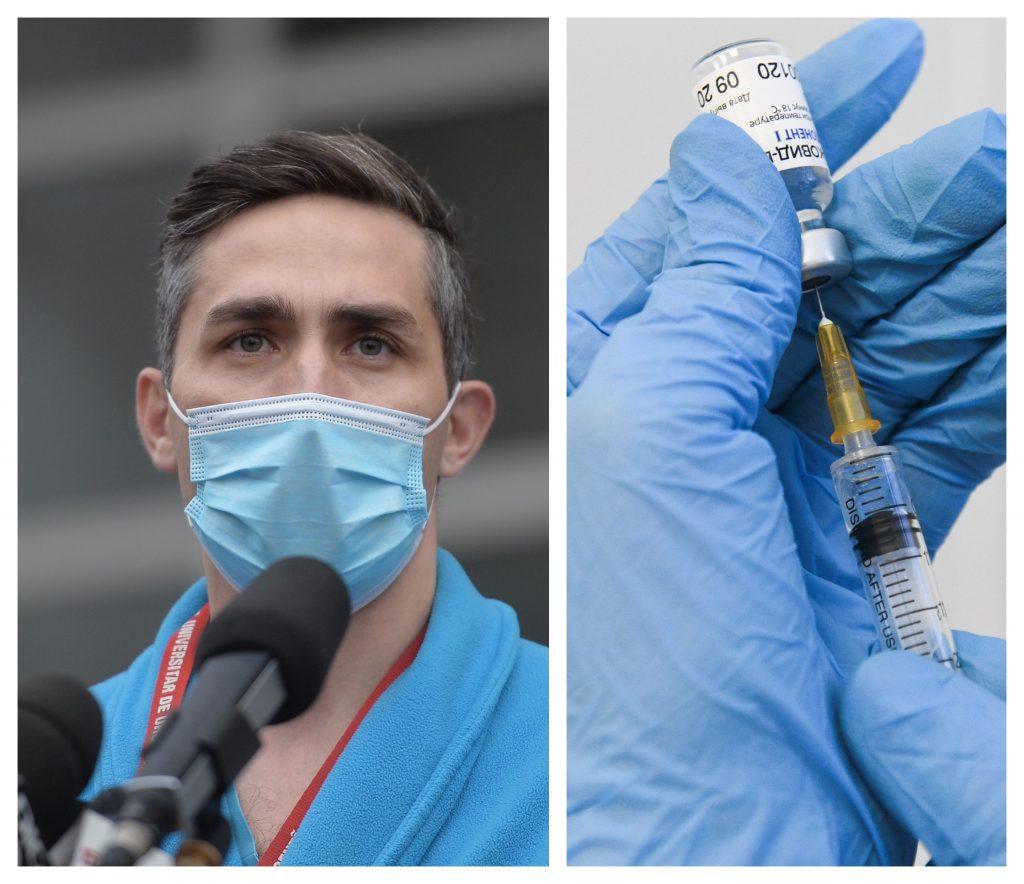 Câte doze de vaccin contra Covid-19 va primi România în luna martie? Anunțul lui Valeriu Gheorghiță