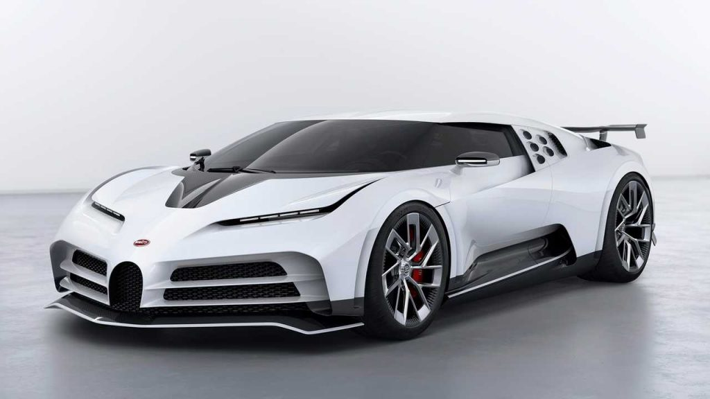 Bugatti Centodieci. FOTO: www.bugatti.com