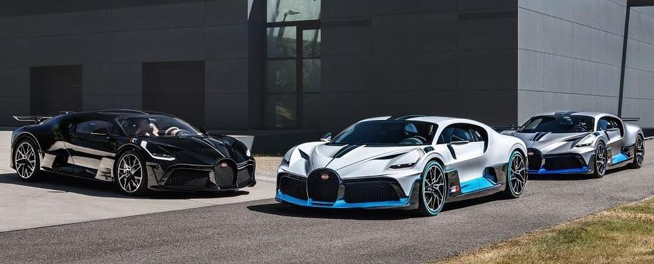 Supercarurile Bugatti. FOTO: instagram