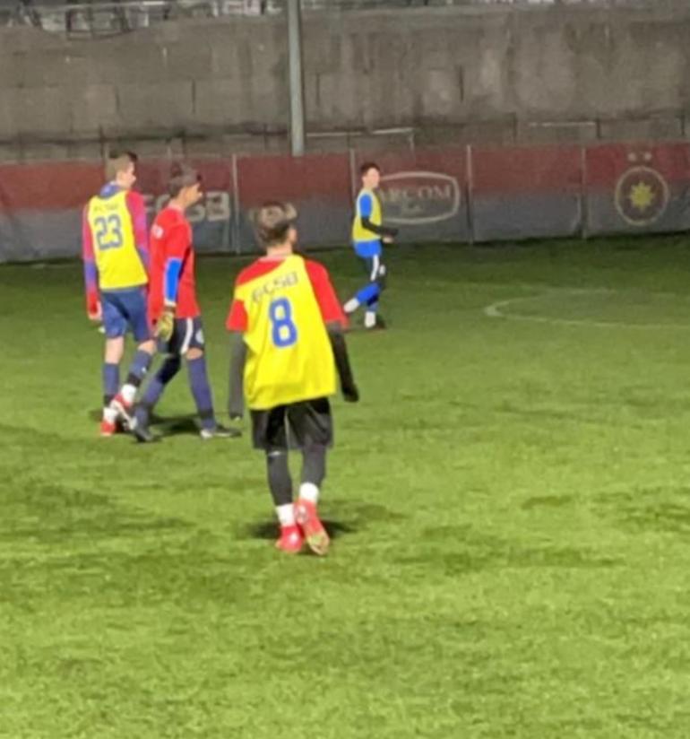Dani Popescu a si postat pe contul sau de Instagram o poza de la primul antrenament alaturi de noua echipa.