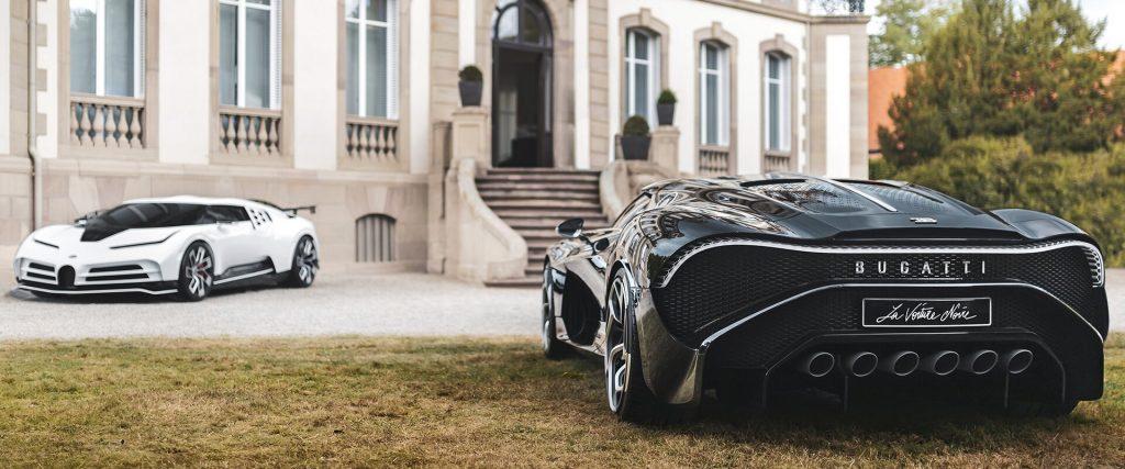 Bugatti Centodieci şi Bugatti La Voiture Noire. FOTO: www.bugatti.com