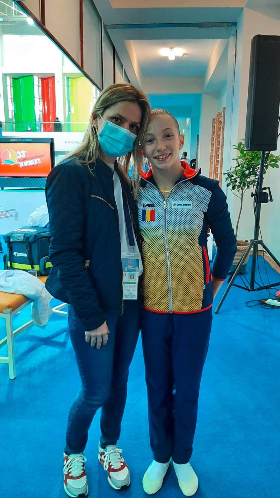 Ana Maria Bărbosu și Daniela Trandafir