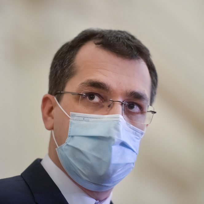 Vlad Voiculescu, ministrul Sănătății (sursa hepta.ro)