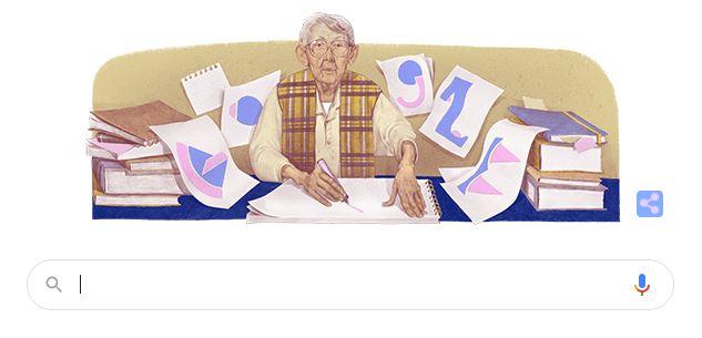 Google o omagiază pe artista Geta Brătescu printr-un Doodle special.