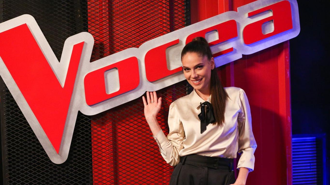 Irina Fodor a fost prezentatoarea la Vocea României