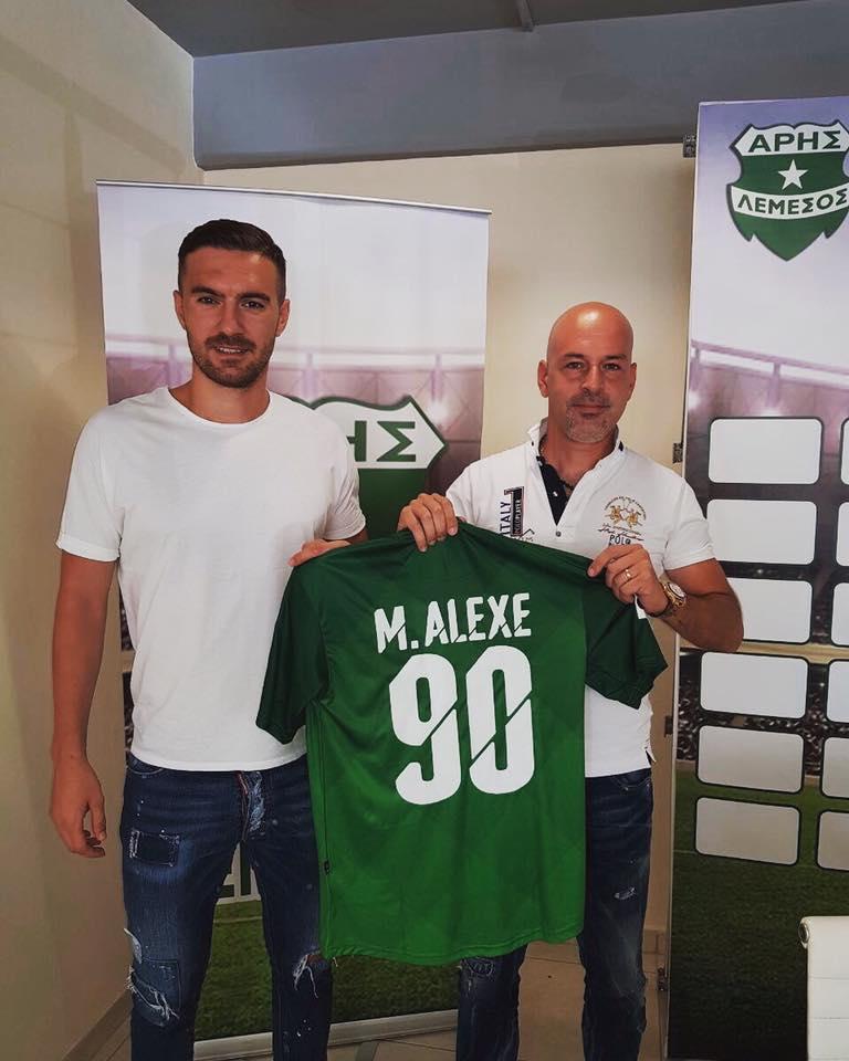 TRANSFER ALEXE. FOTO. A refuzat Dinamo si a mers in Cipru