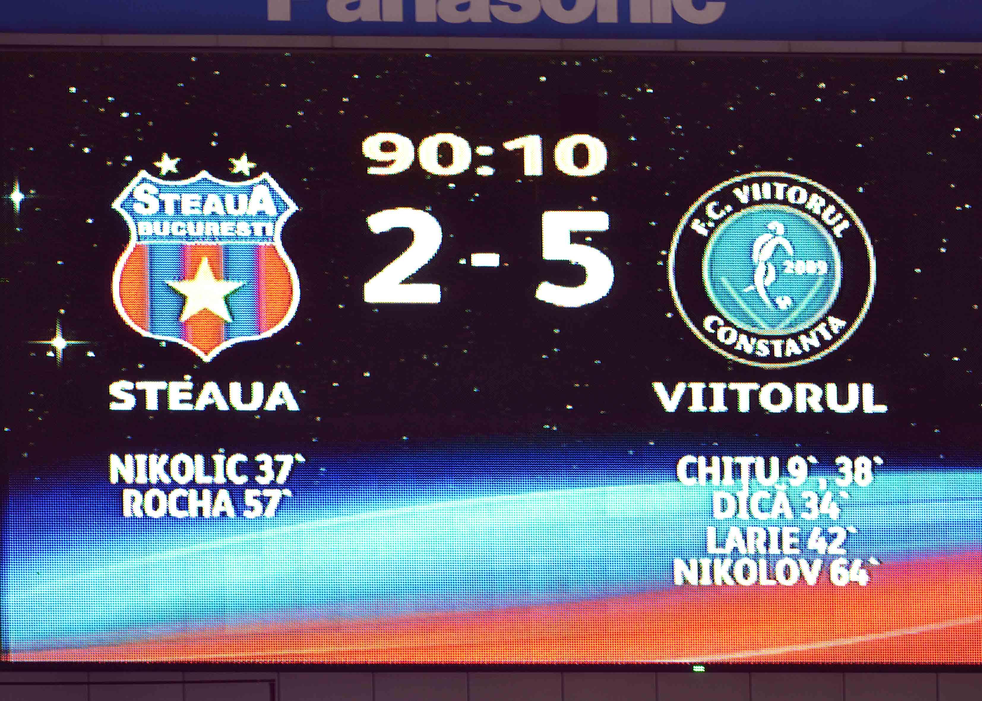 5.FOTBAL:STEAUA BUCURESTI-FC VIITORUL CONSTANTA 2-5,LIGA 1 (19.05.2013)