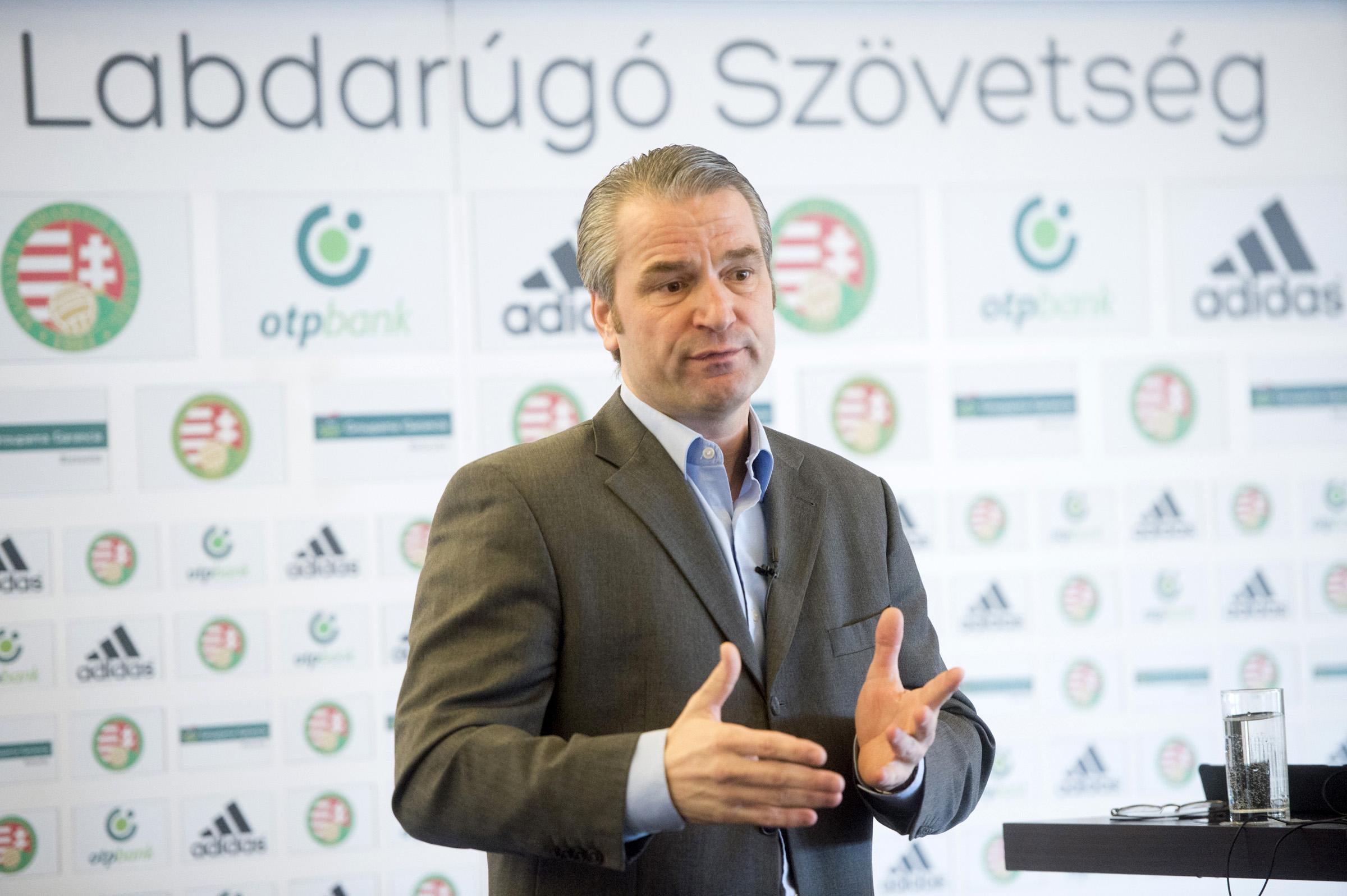 Bernd Storck MLSZ sportigazgató