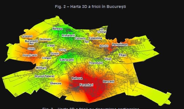 Harta Fricii Din Capitală Care Sunt Cele Mai Sigure Zone Din