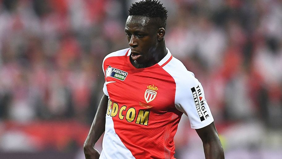 Monaco's French defender Benjamin Mendy controls the ball during the French League Cup final football match Monaco (ASM) vs Paris Saint-Germain (PSG) on April 1, 2017 at the Parc Olympique Lyonnais stadium in Decines-Charpieu, near Lyon. / AFP PHOTO / FRANCK FIFE (Photo credit should read FRANCK FIFE/AFP/Getty Images)