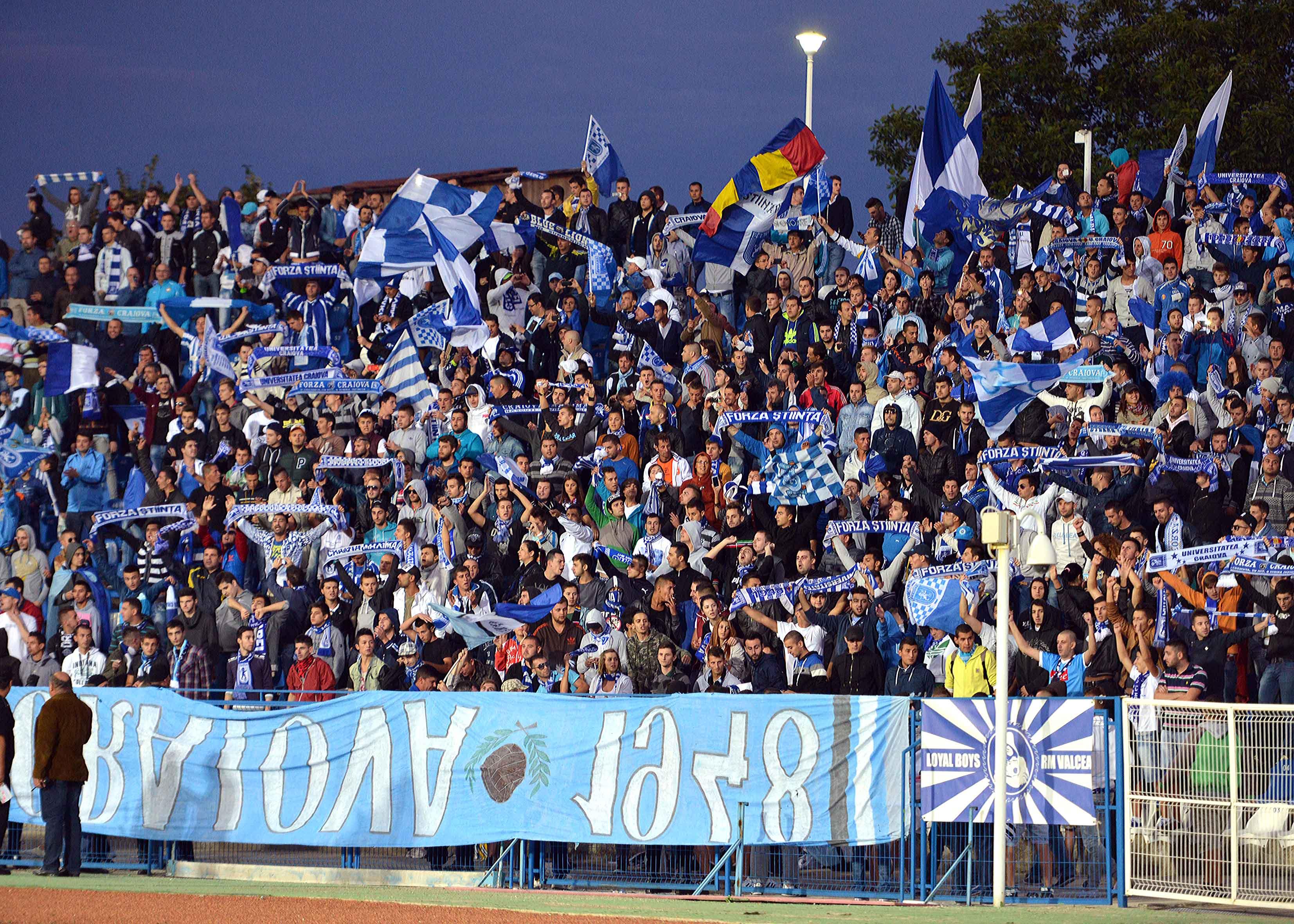 1.FOTBAL:FC UNIVERSITATEA CRAIOVA-CS UNIVERSITATEA CRAIOVA 0-0,LIGA 2 (14.09.2013)