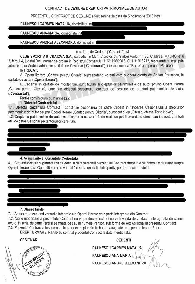 contract paunescu