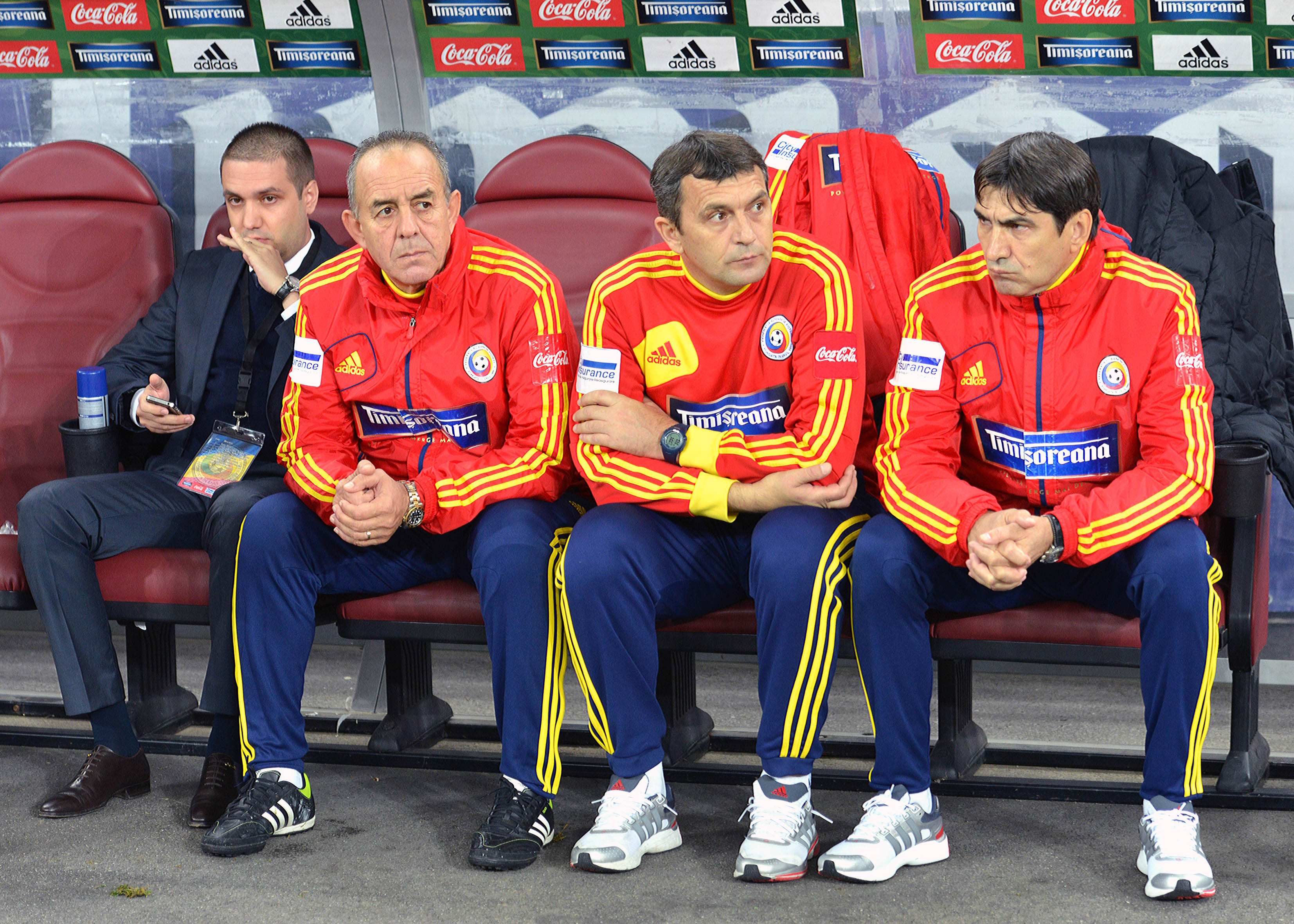 FOTBAL:ROMANIA-ESTONIA 2-0,PRELIMINARIILE CM 2014 (15.10.2013)