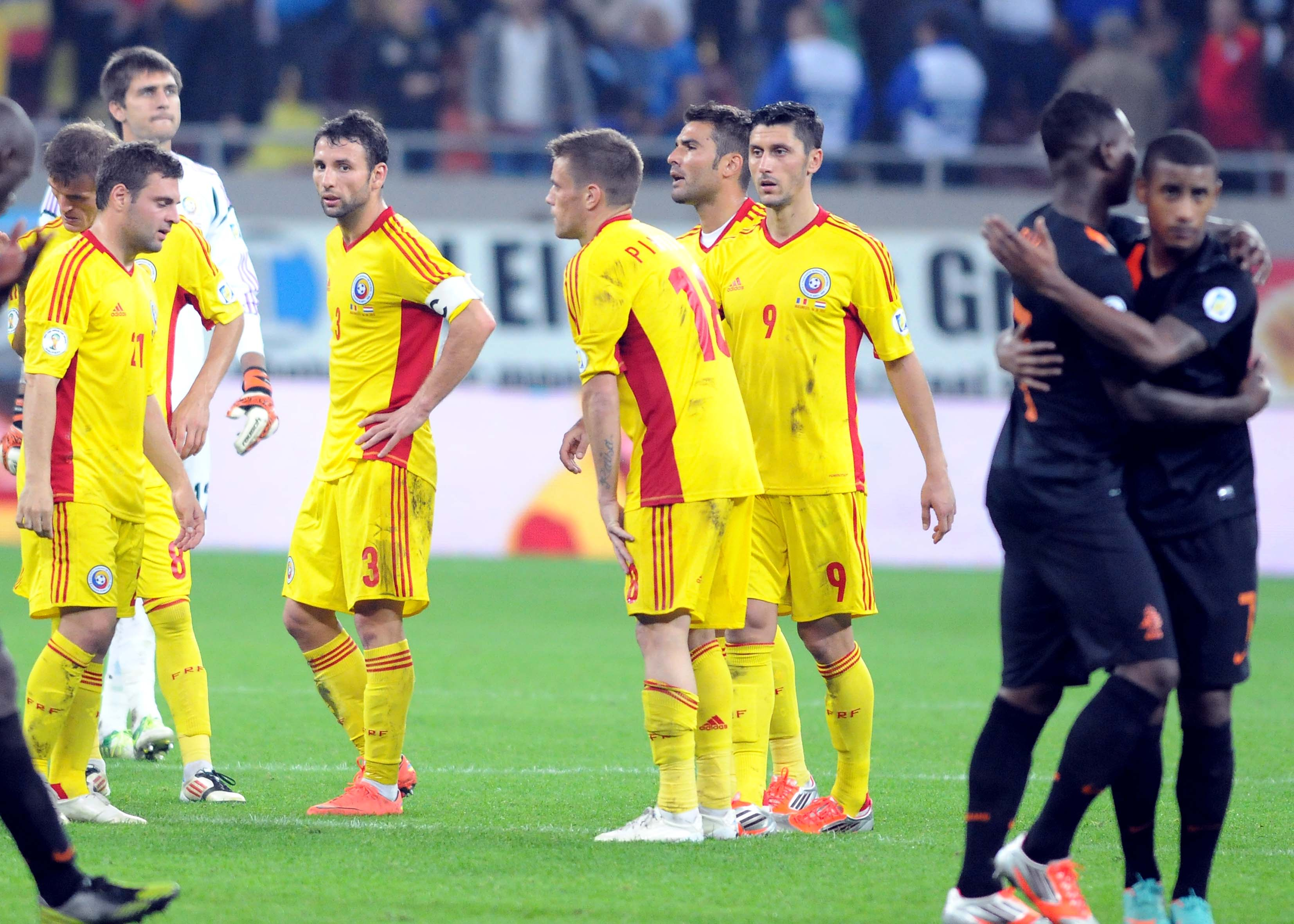 FOTBAL:ROMANIA-OLANDA 1-4,PRELIMINARIILE C.M. 2014 (16.10.2012)