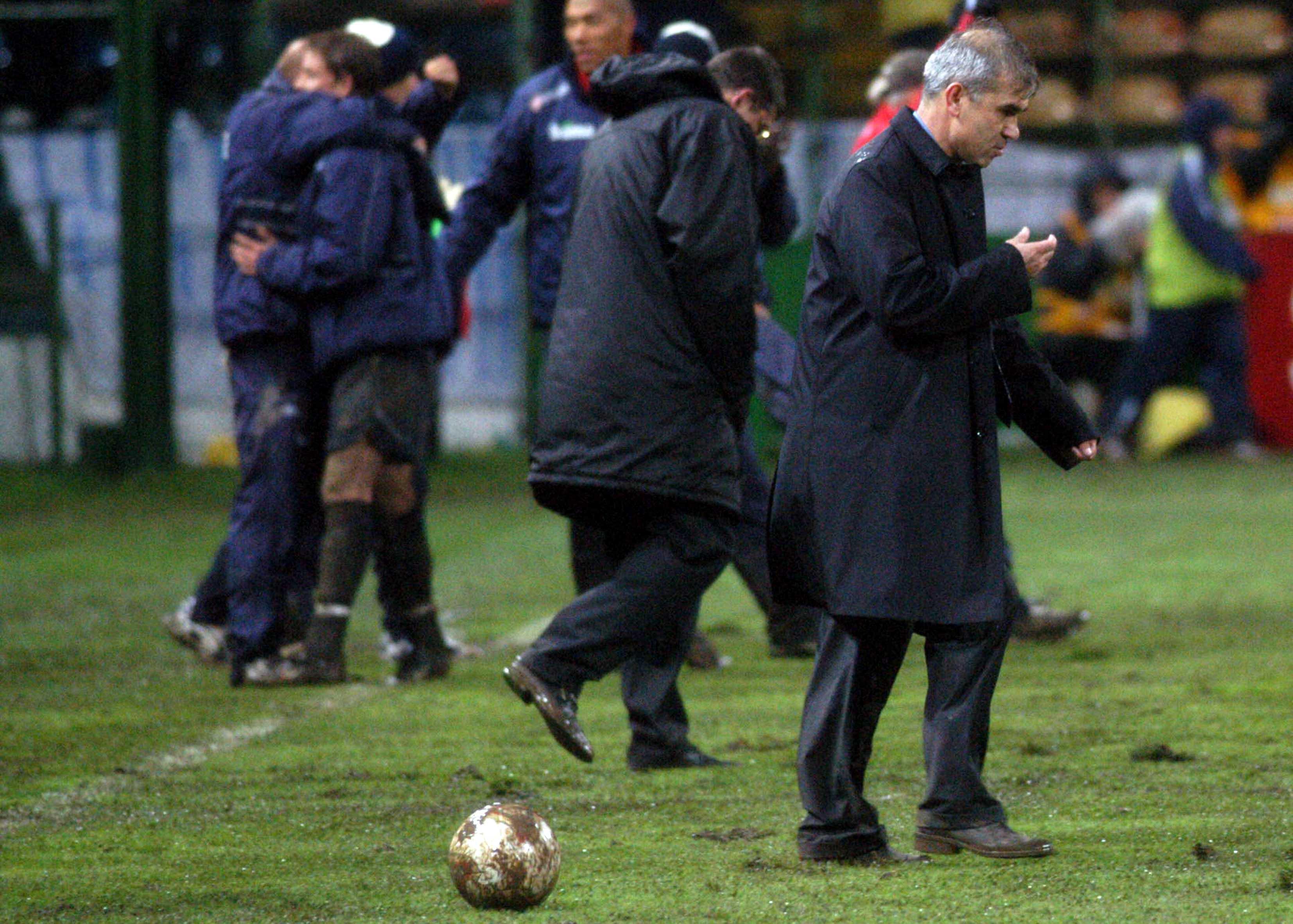 FOTBAL:ROMANIA-NORVEGIA 0-1,PRELIMINARIILE EURO 2004 (12.10.2002)