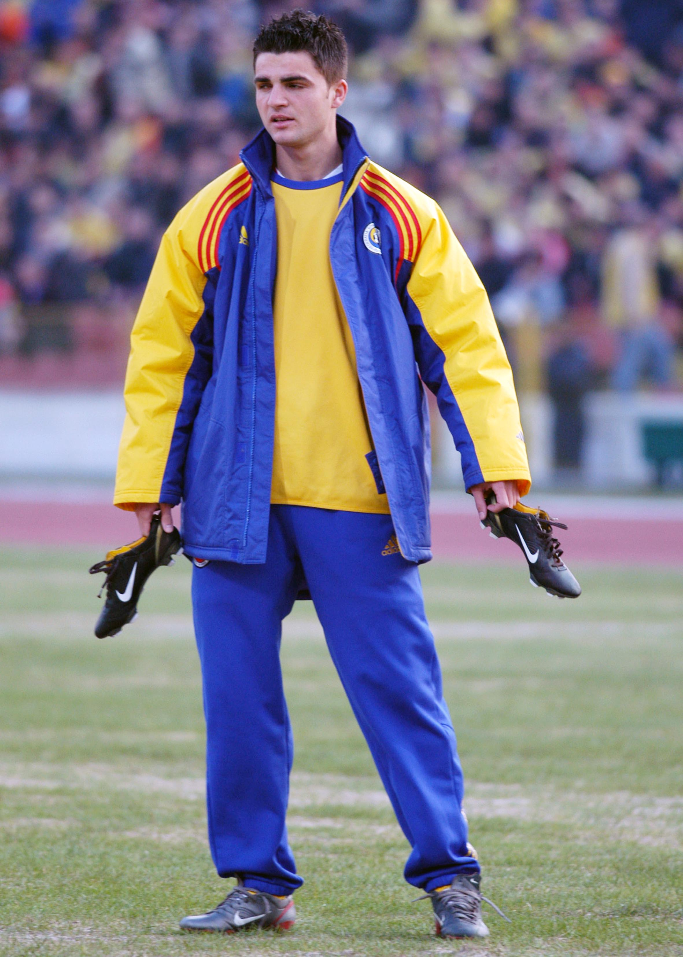 FOTBAL:ROMANIA-DANEMARCA 2-5,PRELIMINARIILE CE 2004 (29.03.2003)
