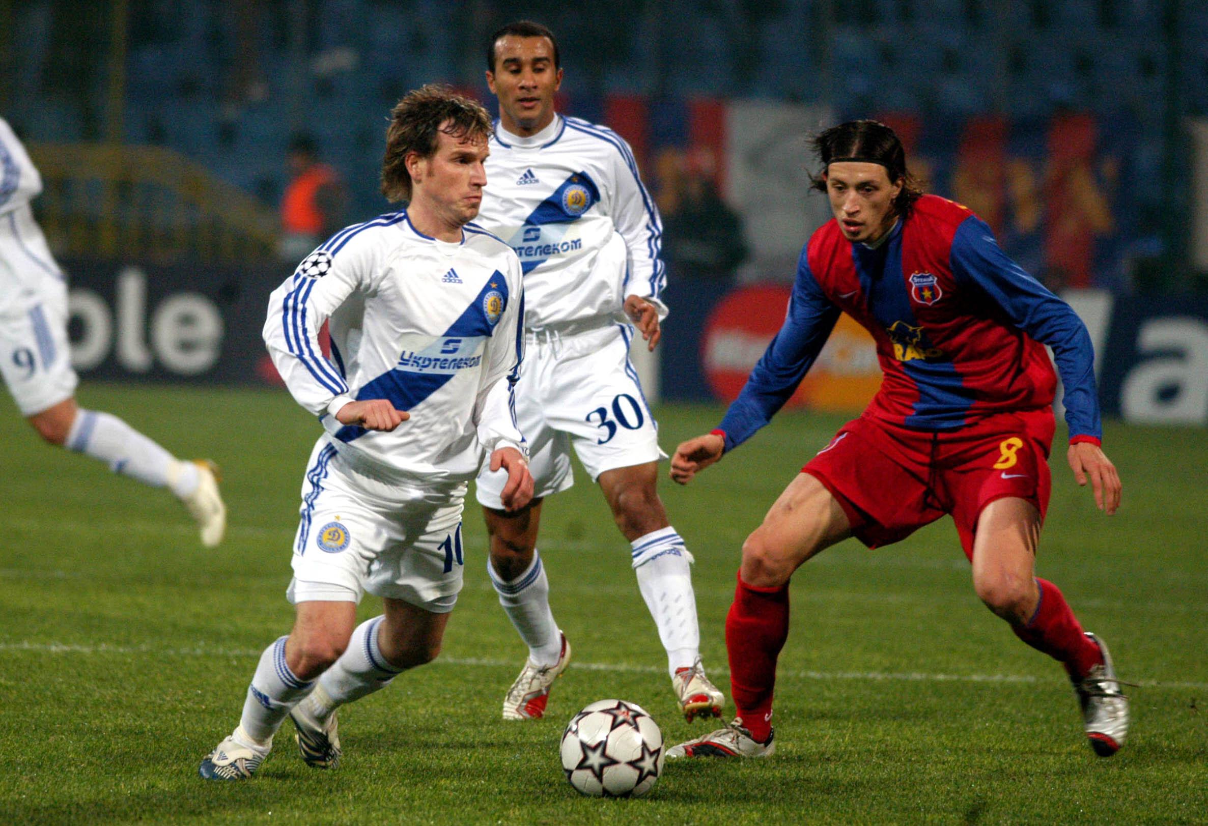 FOTBAL:STEAUA BUCURESTI-DINAMO KIEV 0-1,LIGA CAMPIONILOR (21.11.2006)