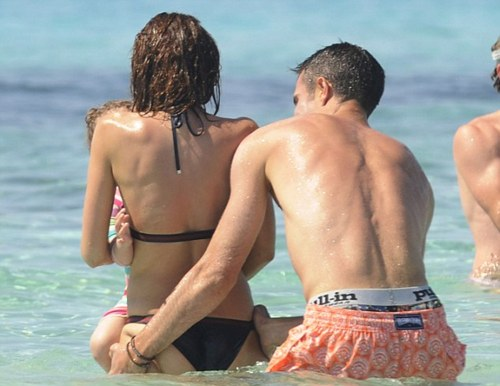 ROBIN VAN PERSIE ON HOLIDAY IN FORMENTERA
