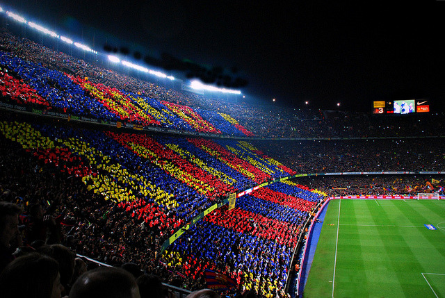 Camp Nou - 5 Places Not To Miss in Barcelona